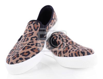 376b68aa9a664 Naklejka Vans buty samodzielnie na białym tle na wymiar • czarny ...