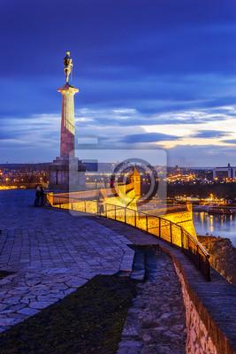 Naklejka Victor monument, Belgrade, Serbia