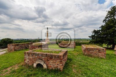 Naklejka Victor pomnik i twierdza Belgrad, Belgrad Serbia