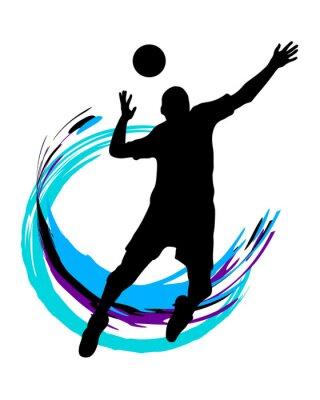 Naklejka Volleyball - 89