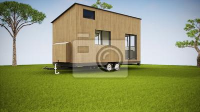 Naklejka vue 3d tiny house
