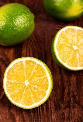Naklejka wapno owoce
