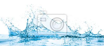 Naklejka water splash
