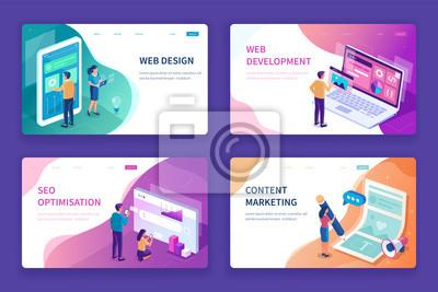 Naklejka web design