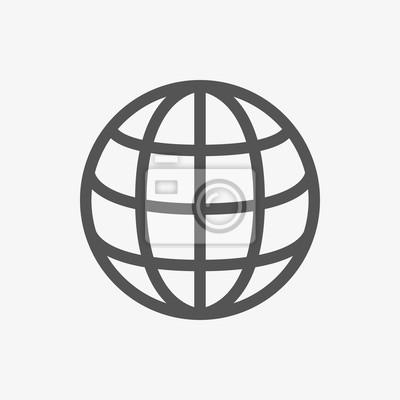 Naklejka web ikonę stock ilustracji wektorowych płaska