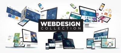 Naklejka webdesign collection