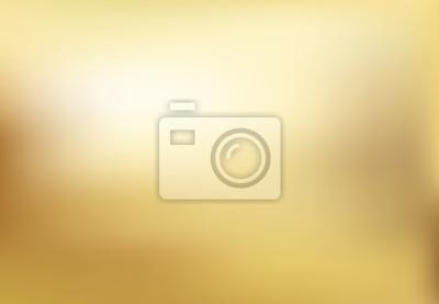 Naklejka Wektor złota rozmyte tło styl gradientu. Streszczenie gładka ilustracja