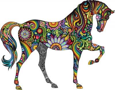 Naklejka Wesoły koń