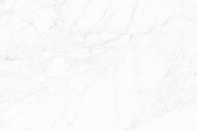 Naklejka White grey marble seamless glitter texture background, counter top view of tile stone floor in natural pattern.