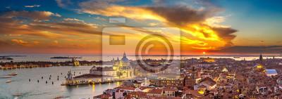 Naklejka Widok z lotu ptaka Wenecja