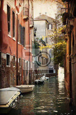 Widok z mostu - Wenecja