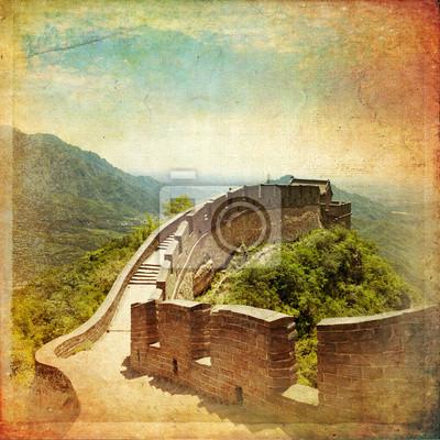 Naklejka Wielki Mur Chiński