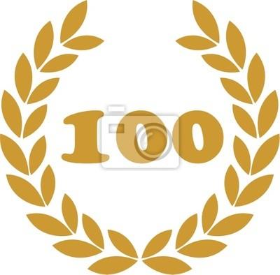 wieniec laurowy 100