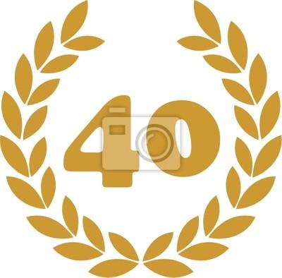 wieniec laurowy 40