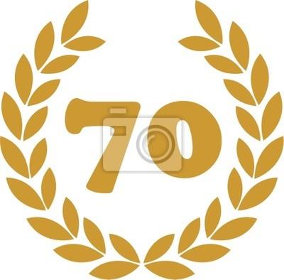 wieniec laurowy 70