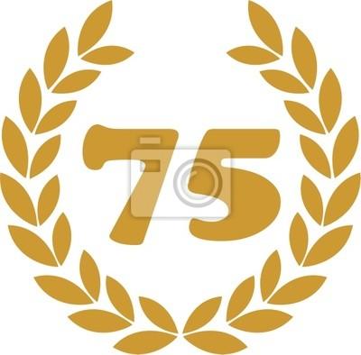 wieniec laurowy 75