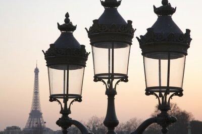 Naklejka Wieża Eiffla, Paryż, Francja