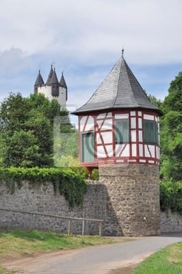 Wieża ściany miasta w Hanau - Steinheim