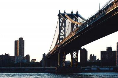 Naklejka Williamsburg Bridge, Nowy Jork.