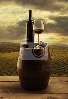 Winnica wino czerwone