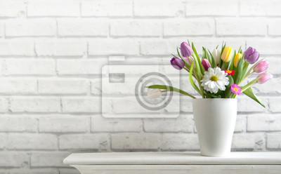 Naklejka Wiosenne kwiaty
