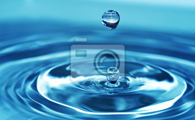 Naklejka Woda Splash