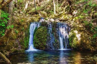 Naklejka Wodospad