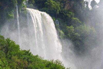 Naklejka Wodospady w Włoszech