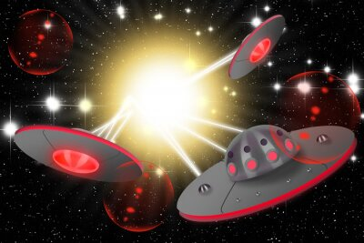 Naklejka Wojna gwiazdy