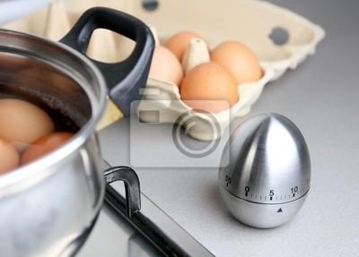 wrzeniu jaja