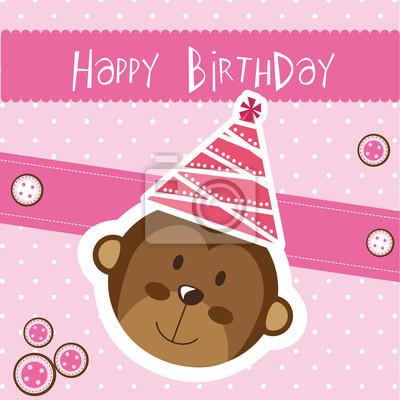 Naklejka Wszystkiego najlepszego z okazji urodzin