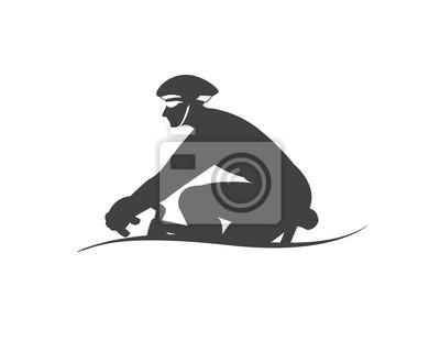 Naklejka wycieczka rowerowa