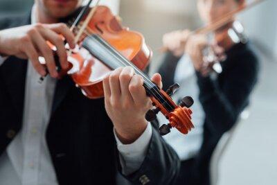 Wydajność duet skrzypce