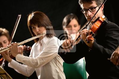 Naklejka Wykonawców muzyki klasycznej