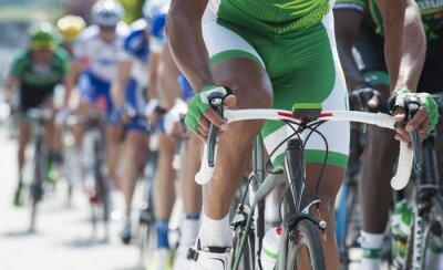 Naklejka Wyścig kolarski zawodowej