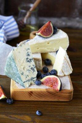 Naklejka wyśmienity ser wymieszać na pokładzie