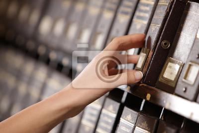 Naklejka Wyszukiwanie w archiwum