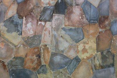 Naklejka Wzór kamiennym murem.