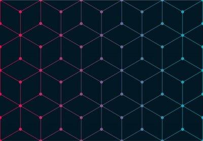 Naklejka wzór sieci