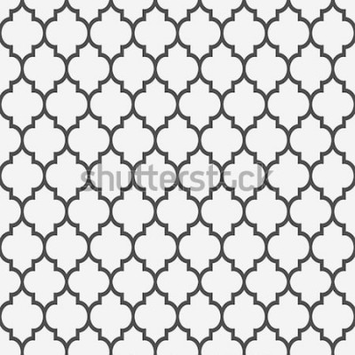 Naklejka Wzór w stylu islamskim. Tło wektor