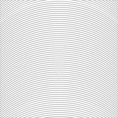 Naklejka Wzór z linii ilustracji wektorowych okrągłe
