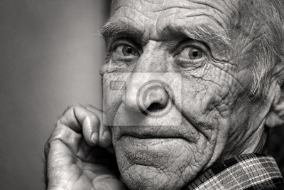 Naklejka Wzrok starca