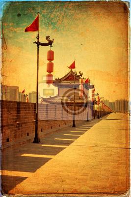 Xian - starożytne miasto ścianie