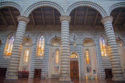 Naklejka オ ル ヴ ィ エ ー ト の 大 聖堂 Orvieto Duomo