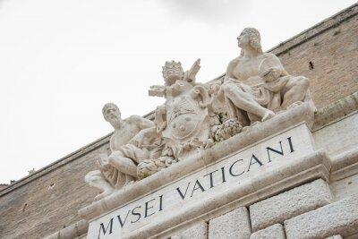 Naklejka ヴ ァ チ カ ン 美術館 Muzea Watykańskie