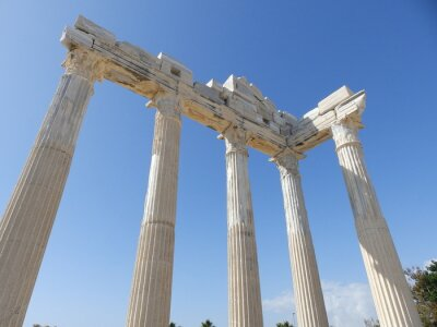 Naklejka сиде - древнегреческий город в турции