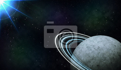 Naklejka Планета в космосе