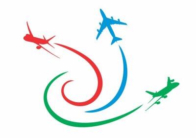 Naklejka Самолеты