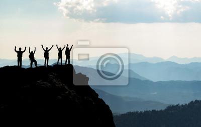 Naklejka Başarılı insanlar & azimli ve kararlı ekip