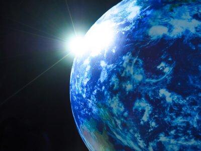 Naklejka 地球